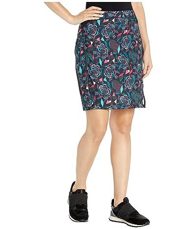 Skirt Sports Happy High Waist Skirt (Rebel Fleur Print) Women