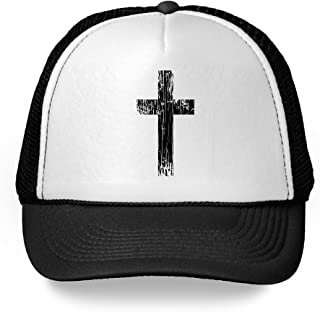 Cross Trucker Hat Christian Hats Religious Accessories Gifts