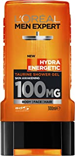 L'Oréal Paris Men Expert Hydra Energetic Taurine Shower Gel 300ml