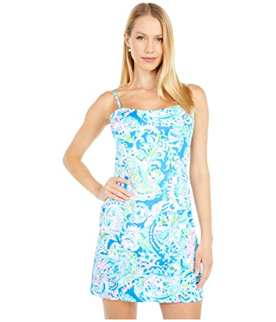 Lilly Pulitzer Shelli Stretch Dress (Multi Dream Team) Women