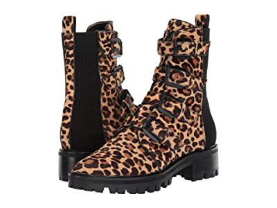 Dolce Vita Gaven Lug (Dark Leopard Haircalf) Women