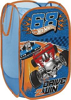 Hotwheels HW9283 Pop-Up Rangement Panier Bleu