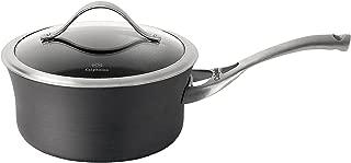 Calphalon 1876967 Sauce Pan Aluminum Nonstick Cookware, 2.5-quart, Black