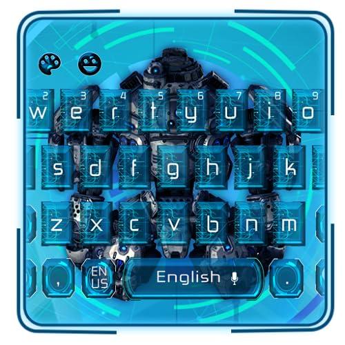 Cool Robot Keyboard Theme