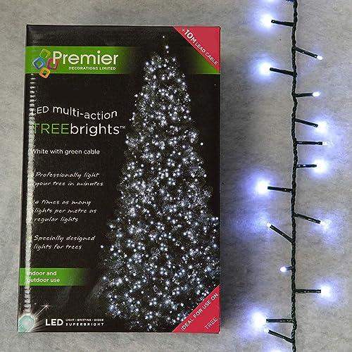 1000 White Led Christmas Lights Amazon Co Uk