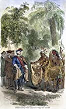 Oglethorpe & Native AmericansNjames OglethorpeS First Meeting With The Yamacraw Native Americans In 1733 At Present-Day Savannah Georgia Wood Engraving American 19Th Century Poster Print by (18 x 24)