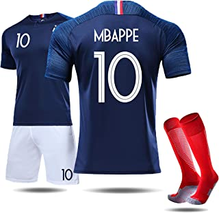 mbappe two star jersey