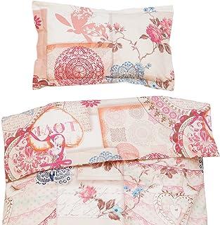 44d8af9241363 Vintage Love - Pati Chou 100% Coton Linge de lit pour bébé (Taie