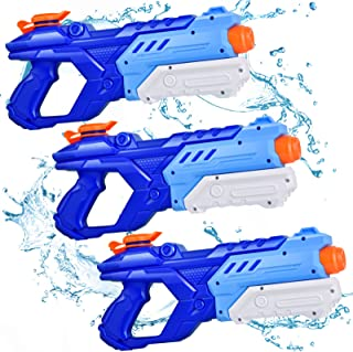 Quanquer Water Guns for Kids, 3 Pack Super Water Blaster...