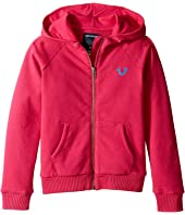 True Religion Kids - Branded Fleece Hoodie (Toddler/Little Kids)