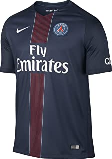 Paris Saint Germain 2016/2017 Home Soccer Jersey (Midnight Navy)