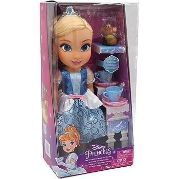DISNEY Princess プリンセス トドラー ドール シンデレラ Tea time with Cinderella&Gus Gus!