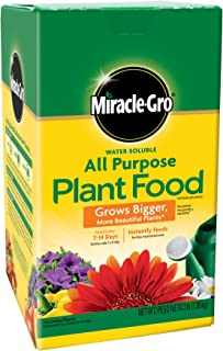Miracle-Gro Water Soluble All Purpose Plant Food, 3 lbs