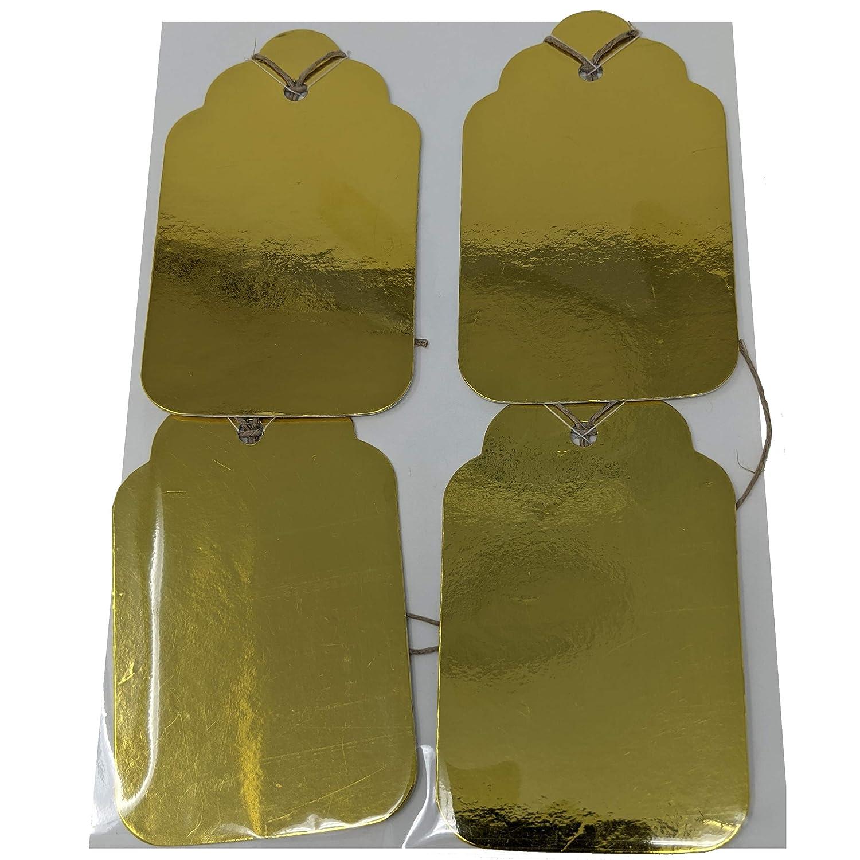 Shiny 5 ☆ very popular 5 ☆ popular Gold Gift Set Tag