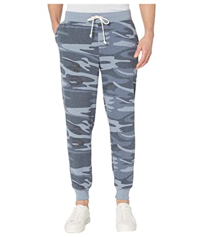 Alternative Dodgeball Eco Fleece Pants (Blue Camo) Men