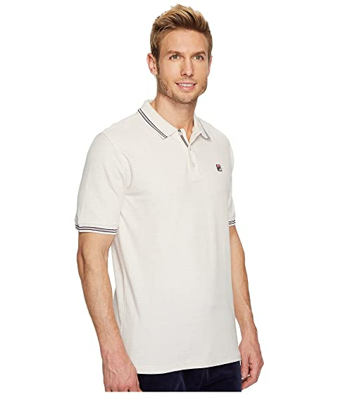 Fila Matcho 3 Polo Oatmeal Heather Clearance High Quality Cheap Countdown Package Discount Best Seller XUwIE8CfbW