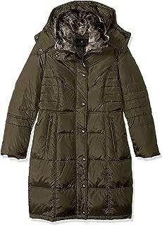 Best khaki green puffer jacket with fur hood Reviews