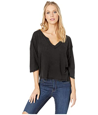 Free People Head in the Clouds Solid (Black) Women
