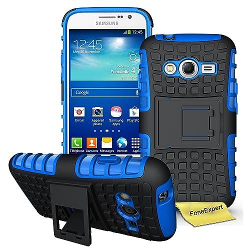 f98ef7ce59b Samsung Galaxy Grand Neo Plus Funda, FoneExpert® Heavy Duty silicona  híbrida con soporte Cáscara