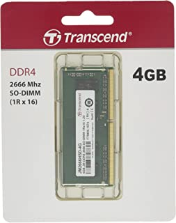 Transcend ノートPC用メモリ PC4-21300(DDR4-2666) 4GB 1.2V 260pin SO-DIMM 1Rx16 CL19 無期限保証 JM2666HSD-4G