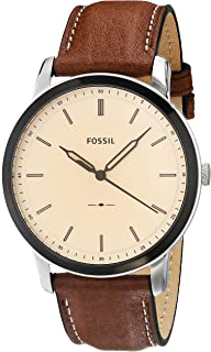 Fossil Analog Silver Dial Men's Watch-FS5619