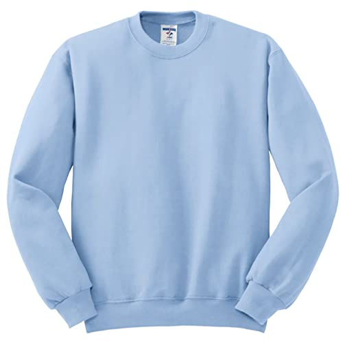 39c62fa56d0a Jerzees Men s Pill Resistant Long Sleeve Crewneck Sweatshirt