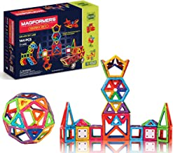 Magformers Smart Set (144-piece ), Deluxe Building Set. Magnetic Building Blocks, Educational Magnetic Tiles, Magnetic Bui...