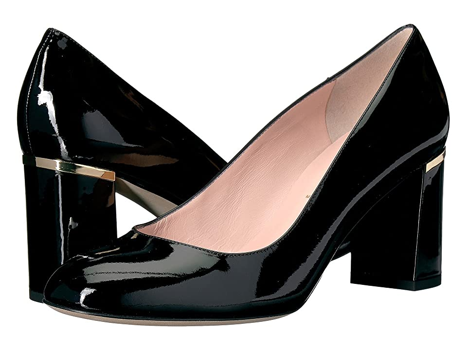 59a4e2c10b4c Kate Spade New York Alamar (Black Patent) Women s Shoes