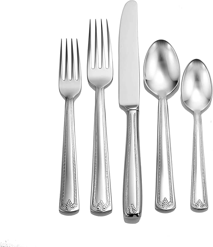 Liberty Tabletop Prestige 65 Piece Flatware Set For 12 Made In USA