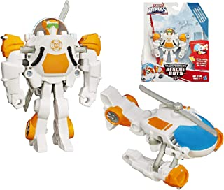 Transformers Rescue Bots Rescan Blades The Flight Bot to Helicopter Rescue Heroes 4.5