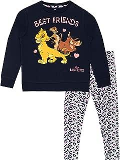 Girls The Lion King Sweatshirt and Leggings Set