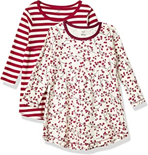 Touched by Nature Baby Girls 2-Pack Organic Cotton Dress