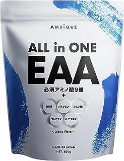 アンビーク オールインワン EAA 620g レモン風味 アミノ酸 BCAA HMB クレアチン グルタミン プレワークアウト 8月18日発売