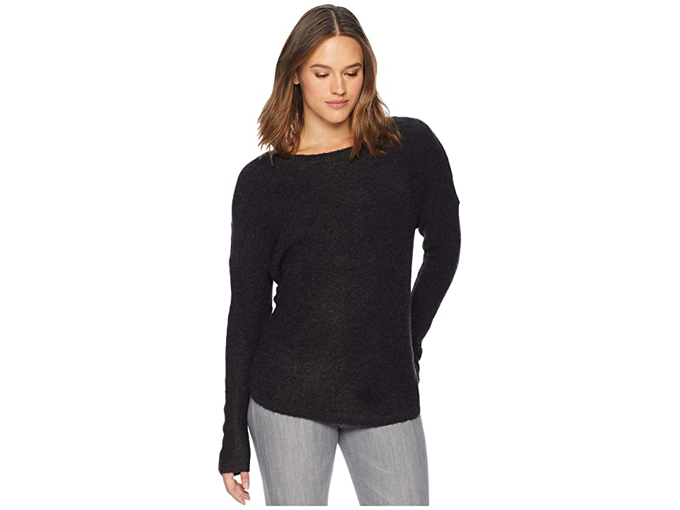 ExOfficio Pontedera Bateau Neck (Charcoal Heather) Women