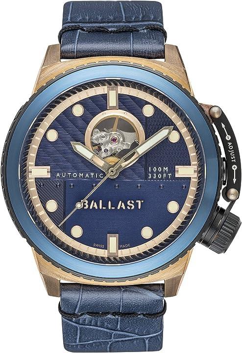 Orologio ballast trafalgar (dreadnought) - bl-3136-01 orologio svizzero 4894664108488