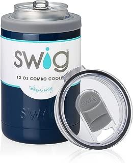 Swig 12oz Combo Cooler-Navy