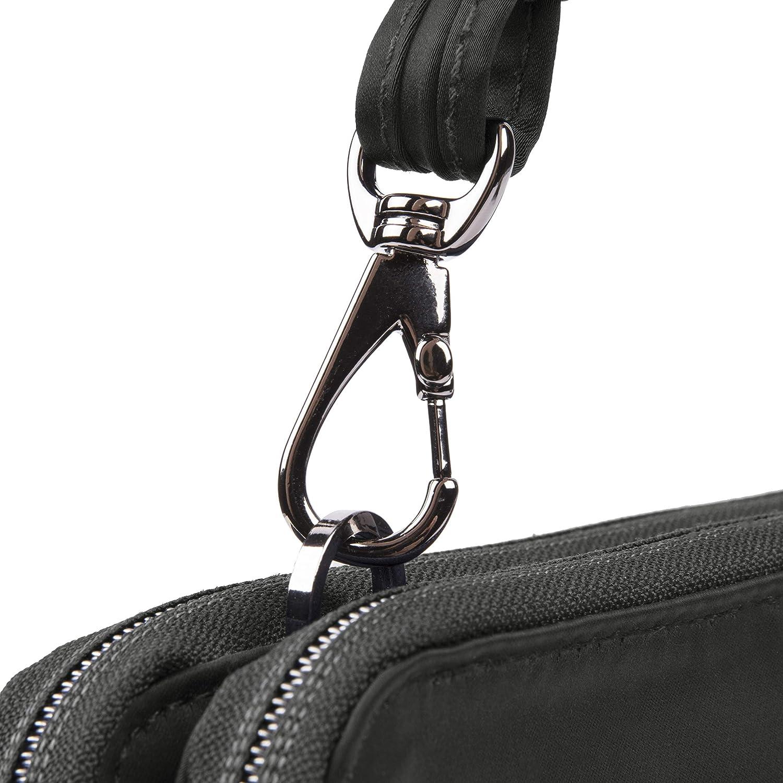 Travelon Women's Parkview Anti-Theft Double Zip Crossbody Clutch