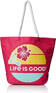 Life is Good Beach Bag