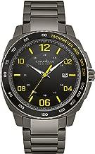 Caravelle New York Men's Quartz Stainless Steel Dress Watch (Model: 45B143)