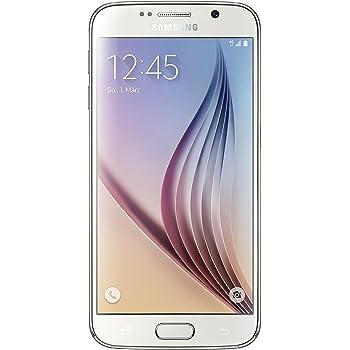 Samsung Galaxy S6 Smartphone débloqué (Ecran: 5.1 pouces - 32 Go) Blanc (import Allemagne)