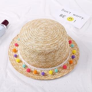 Heart .Attack Summer Girls Straw Waves Along Straw Hats Korean Summer Mix Sunscreen Vises Ribbons Makeup Beach Hat