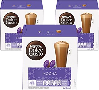 Nescafe Dolce Gusto Mocha Coffee Capsules (48 Capsules, 24 Cups)