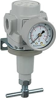 PneumaticPlus SAR400T-N04BG Compressed Air Pressure Regulator 1/2