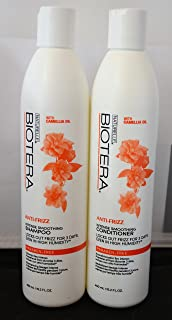 Biotera Anti-Frizz Intense Smoothing Shampoo & Conditioner (15.2 Ounce)