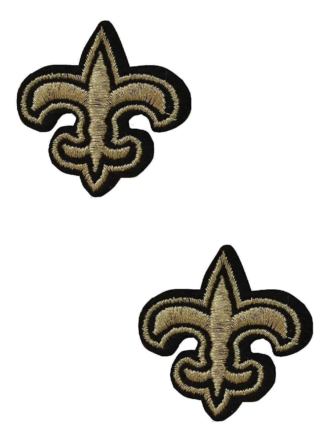 2 pieces BOY SCOUT Logo Iron On Patch Fabric Applique Motif Children Decal 1.8 x 1.8 inches (4.5 x 4.5 cm)