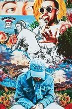 ملصق مطبوع عليه صورة فنية لفرقة ماك ميلر من باي آرت فورليس مقاس 36 × 24
