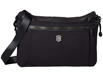 Victorinox Compact Crossbody Bag (Black) Handbags
