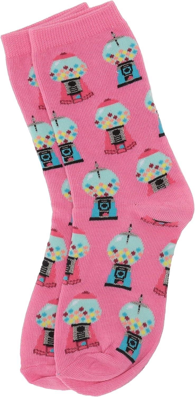 Hot Sox girls Food Novelty Casual Crew Socks