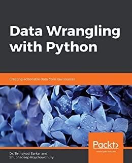 Data Wrangling with Python: Creating actionable data from raw sources (English Edition)