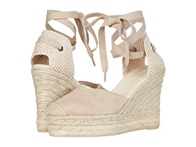 Soludos Mallorca Wedge Espadrille (Blush) Women